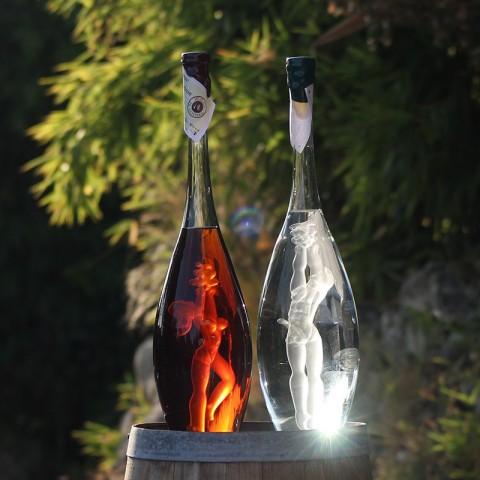 Femme ou Homme, verre soufflé